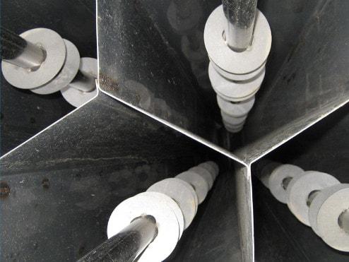 Wet Electrostatic Precipitator Hexagonal Collection Tubes