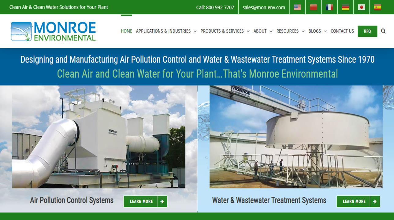 Air Pollution Control Manufacturers Suppliers