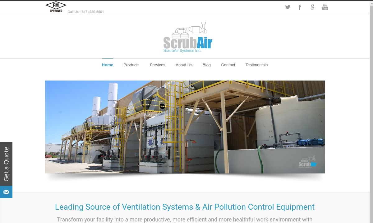 ScrubAir Systems, Inc.