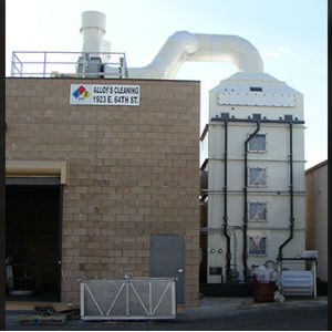 Thermal Oxidizer with Air Scrubber