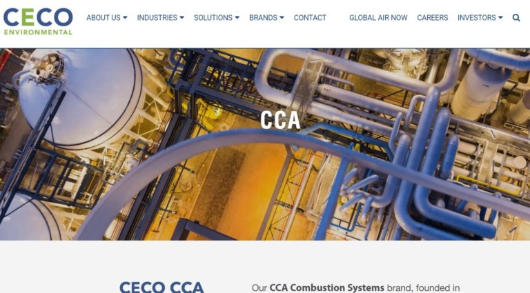 CCA Combustion Systems